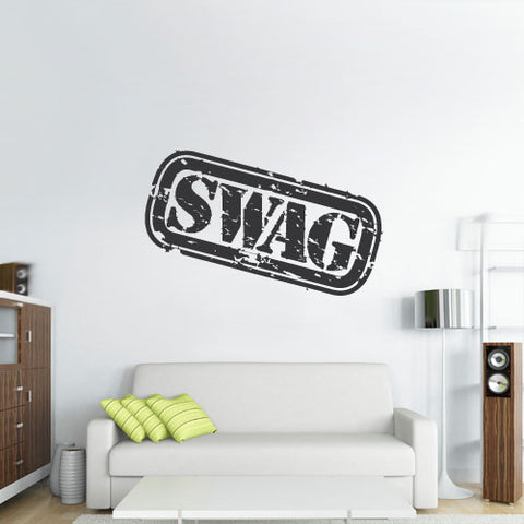 Wall Decal Vinyl Decal Sticker Decals Swag Modern Fashion Quote Sign Classic  z3130