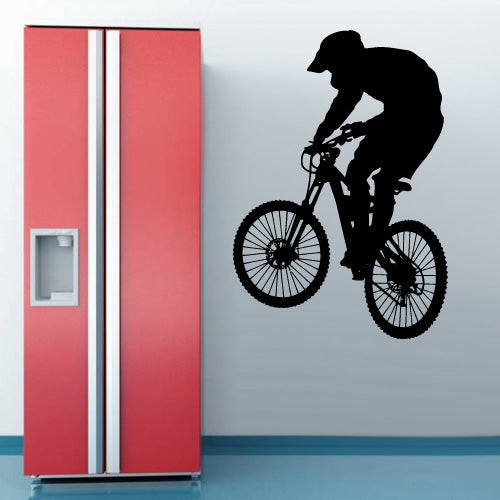 Wall Vinyl Decal Sticker Bedroom Decal Modern Decal Cycle BMX Bike Bicycle  z3142