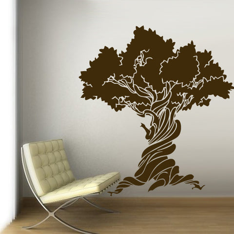 Wall Vinyl Decal Sticker Bedroom Wall Decal Decal Tree Fashion Trend Modern  z3157