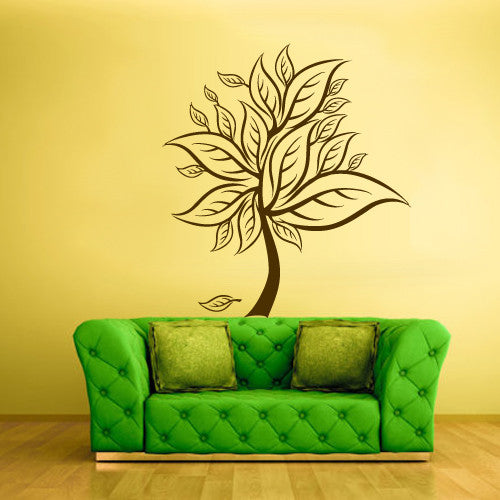 Wall Vinyl Decal Sticker Bedroom Decal Tree Modern Fashion  z502