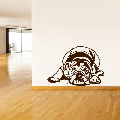 Wall Vinyl Decal Sticker Bedroom Decal Dog Hound Pooch  z514