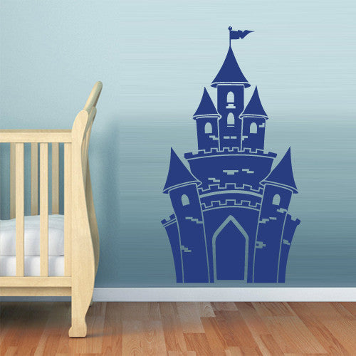 Wall Vinyl Decal Sticker Bedroom Decal Nursery Kids Baby Castle Magic  z517