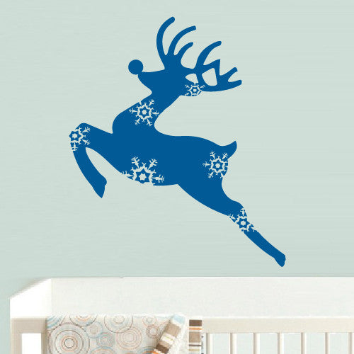 Wall Vinyl Decal Sticker Bedroom Decal Deer Elk Nursery Kids Baby  z527