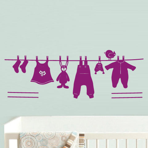 Wall Decal Vinyl Decal Sticker Decor Bedroom Decal Nursery Kids Baby Clothes  z533