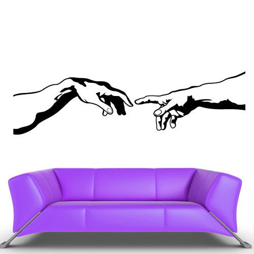 Wall Decal Vinyl Decal Sticker Decal Modern Arms Hands Peoples  z545