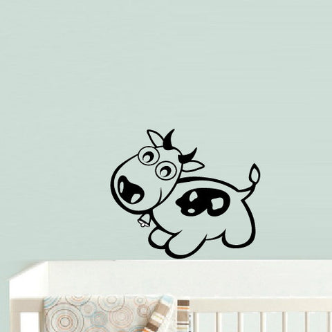 Wall Decal Vinyl Decal Sticker Decal Dog Nursery Kids Baby Dog Hearts  z556