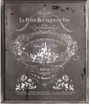 IOD - Decor Transfer - La Petite De Vin - Tall - The Chippy Barn