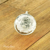 Bubbled Clear Glass Knob - The Chippy Barn