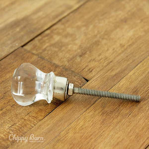 Antique Style Glass Knob - The Chippy Barn