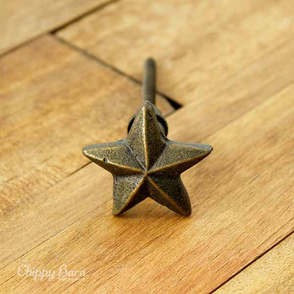 Metal Nautical Star Hardware - The Chippy Barn