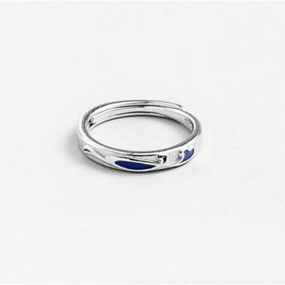 Classy Love Wave Ring for Men & Women