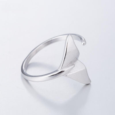 Whale Tail Cuff Ring
