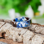 Underwater Wood Resin Ring | limited edition