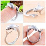 UNISEX Antique Shark Rings
