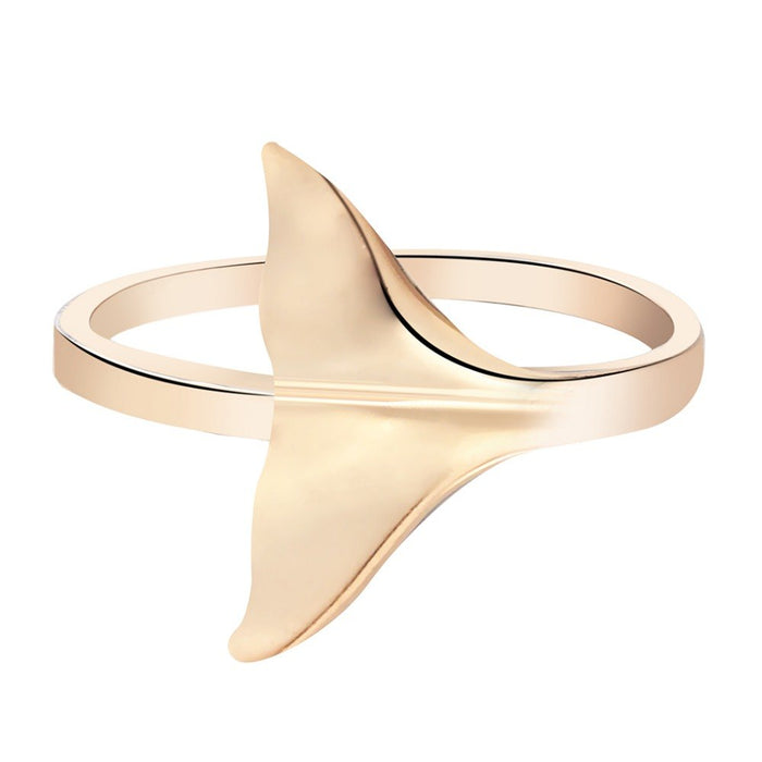 Cute Whale Tail Ring