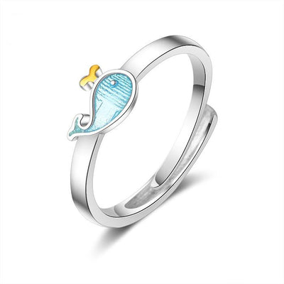 Blue Whale Ring