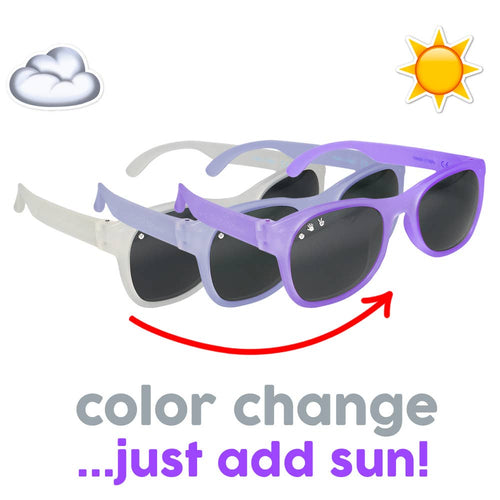 Wonka Color-Changing Purple Baby Sunglasses