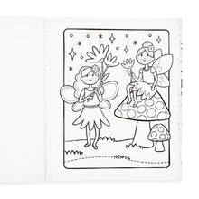 Color-in' Book - Princesses & Fairies