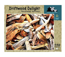 Driftwood Delight Jigsaw Puzzle 550 Piece