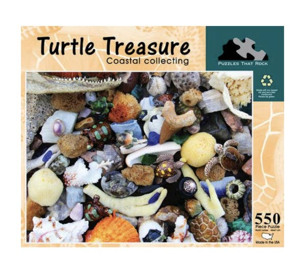 Turtle Treasure Jigsaw Puzzle 550 Piece
