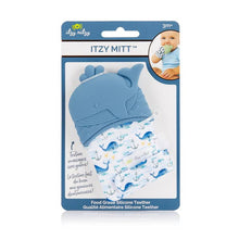 Whale Itzy Mitt™ Silicone Teething Mitt