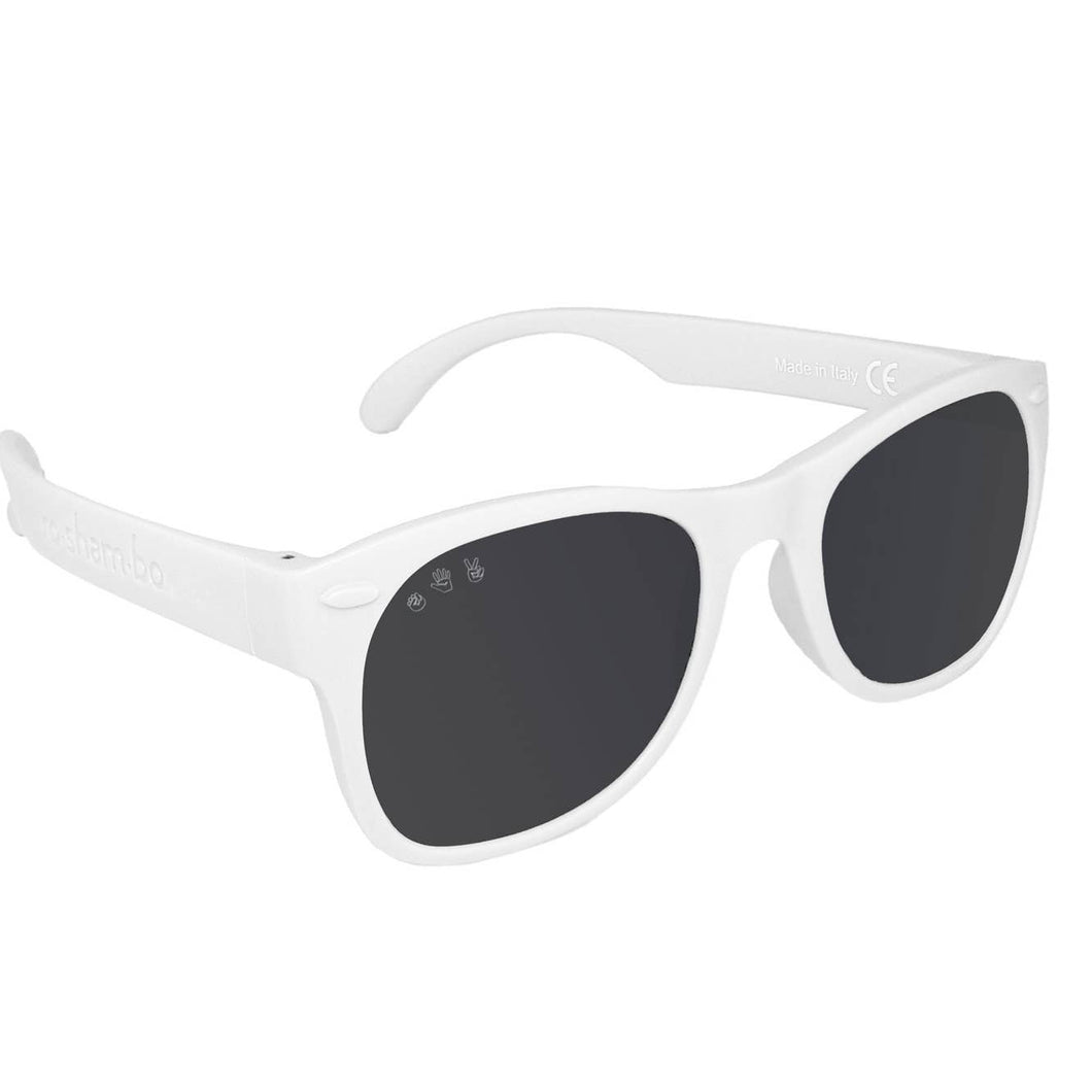Ice Ice Baby White Baby Sunglasses