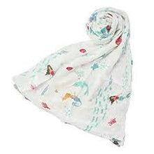 Muslin Swaddle - Mermaids and Narwhals