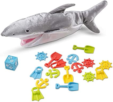 Melissa & Doug Shark Bait Game With Zippered Plush Shark