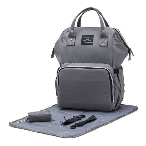Metropolitan Backpack Diaper Bag-Grey