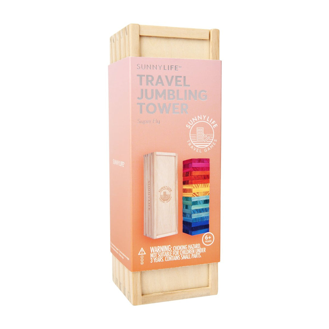 SunnyLIFE Travel Jumbling Tower Super Fly