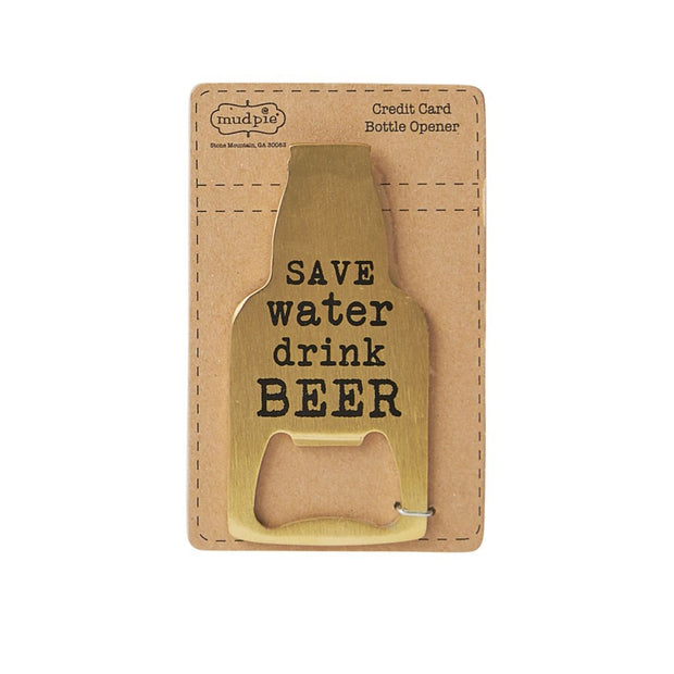 Save Water Bottle Opener