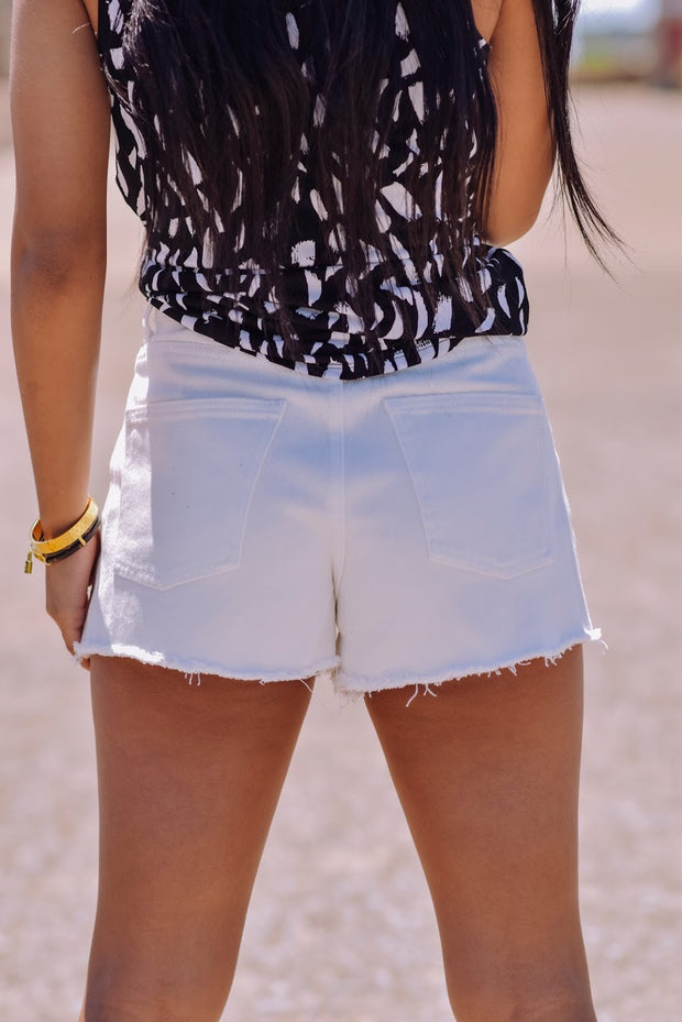 Julia Shorts, White