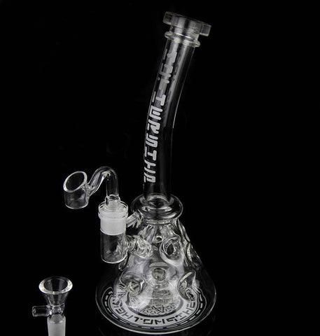 Bong! Newest Thick Glass Bongs Recycler Oil Rigs Bong Fab Egg Glass Water Pipe Glass Smoking Pipes Hookahs 2 Function 14.5mm Joi - New Dab City