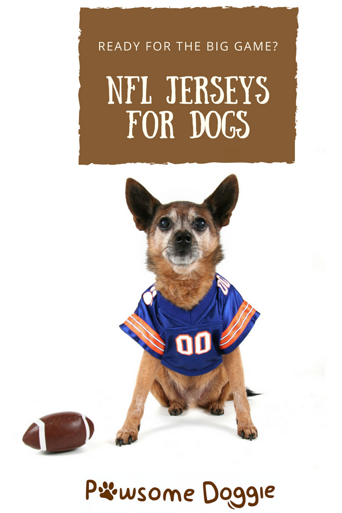 best website 4b354 0c5b7 NFL Jerseys for Dogs and More From DoggieNation – Pawsome Doggie