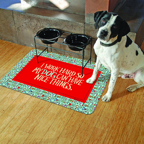 funny sayings dog doormat