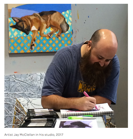 dog coloring book for adults artist