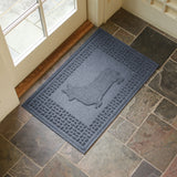 Corgi Welcome Mat