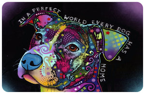 Pit Bull Indoor Doormat Floor Mat by Dean Russo (6 designs)