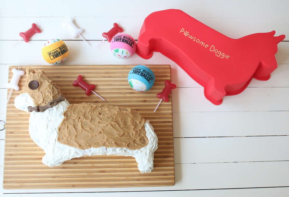 corgi dog birthday cake pan