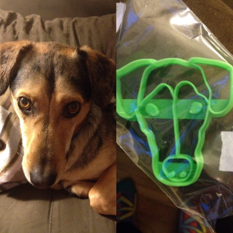 Custom Cookie Cutter of Your Dog