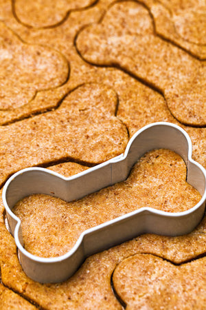 dog bone cookie cutter diy treats