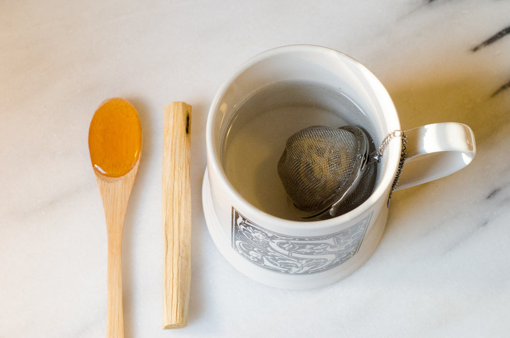 How to Brew a Cozy Cup of Palo Santo Tea