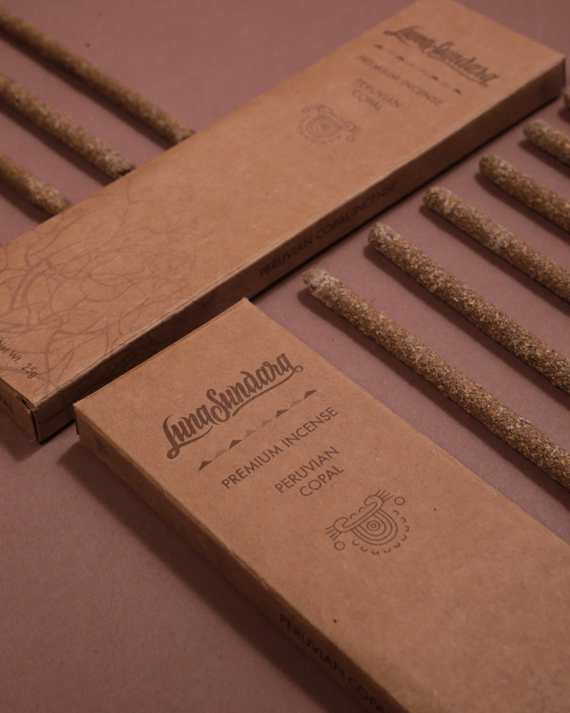 Get to know our newest incense: Peruvian Copal