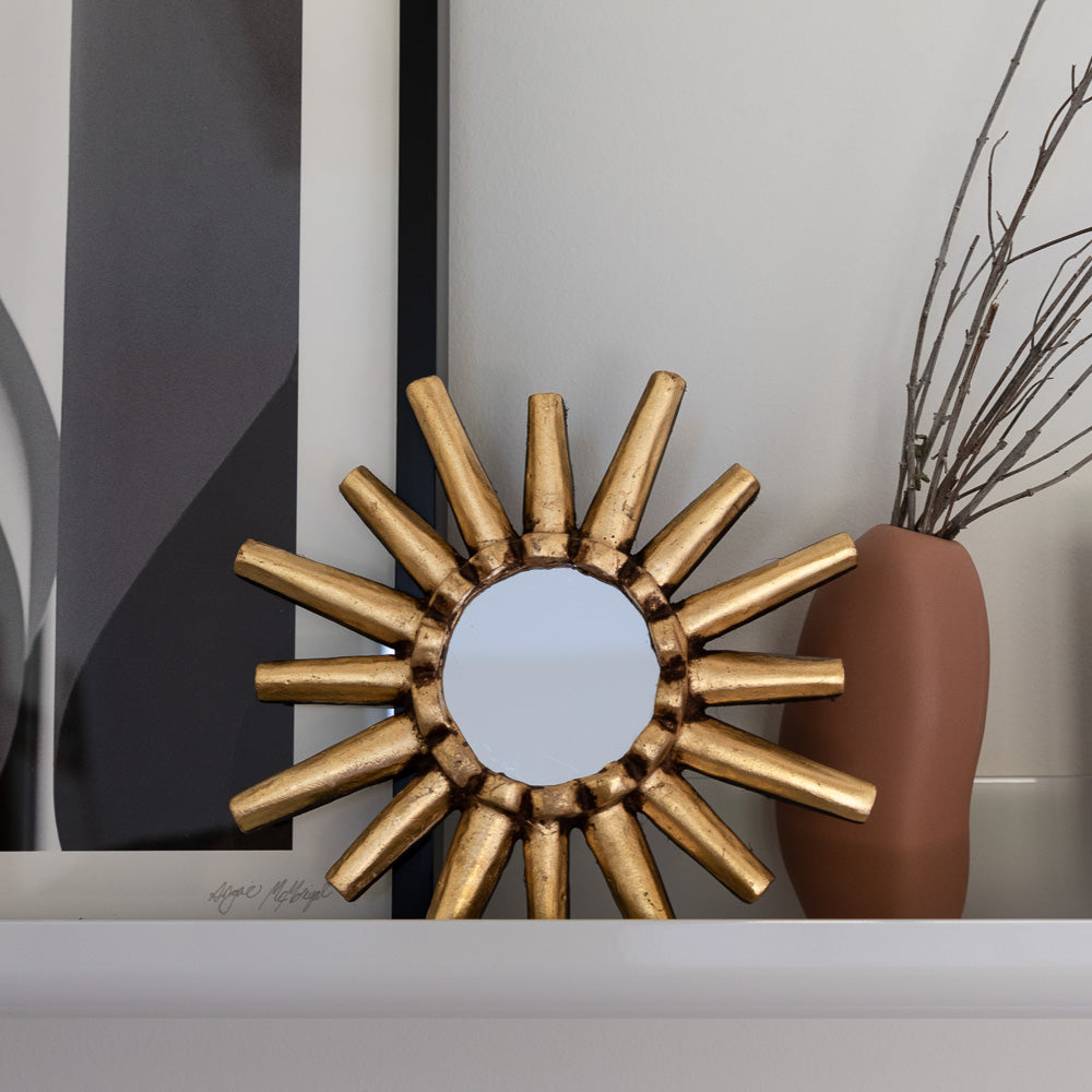 Peruvian Wall Mirror - Sunburst