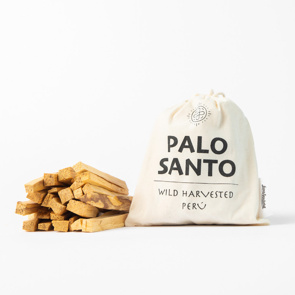 Palo Santo Smudging Sticks from Peru Sustainably Harvested Quality Hand Picked - 100 Grams (Approximately 15-20 Sticks) - Luna Sundara