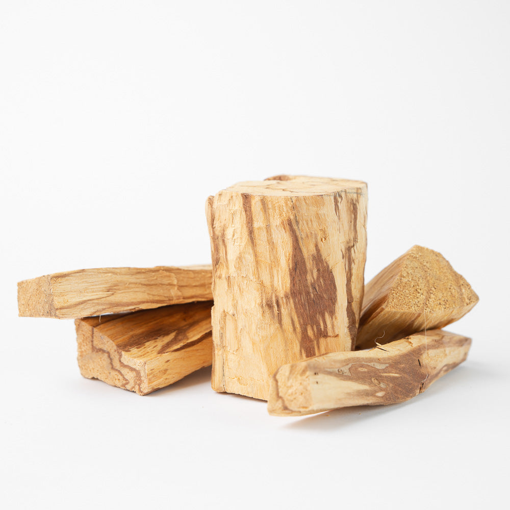 High Resin Peruvian Palo Santo Chunks 1 Lb. - Luna Sundara