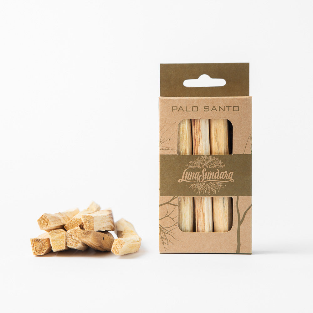 Palo Santo Smudging Sticks Single Pack (8 sticks) - Luna Sundara