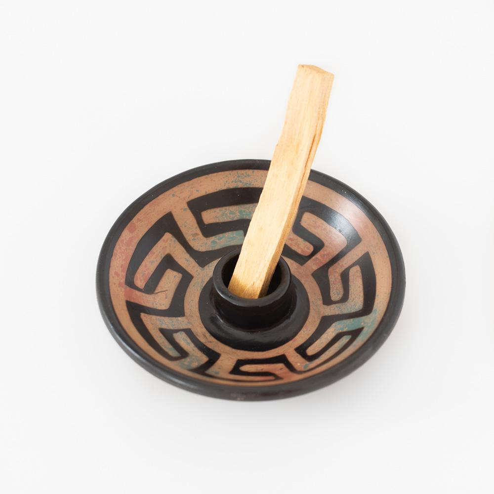 Palo Santo Holder with  5 Palo Santo sticks (different colors available) - Luna Sundara
