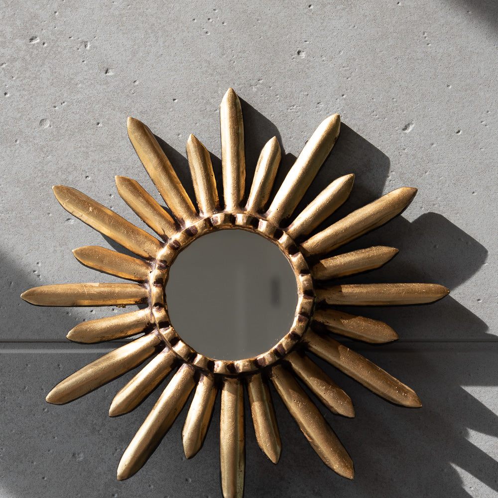 Peruvian Wall Mirror - Starburst