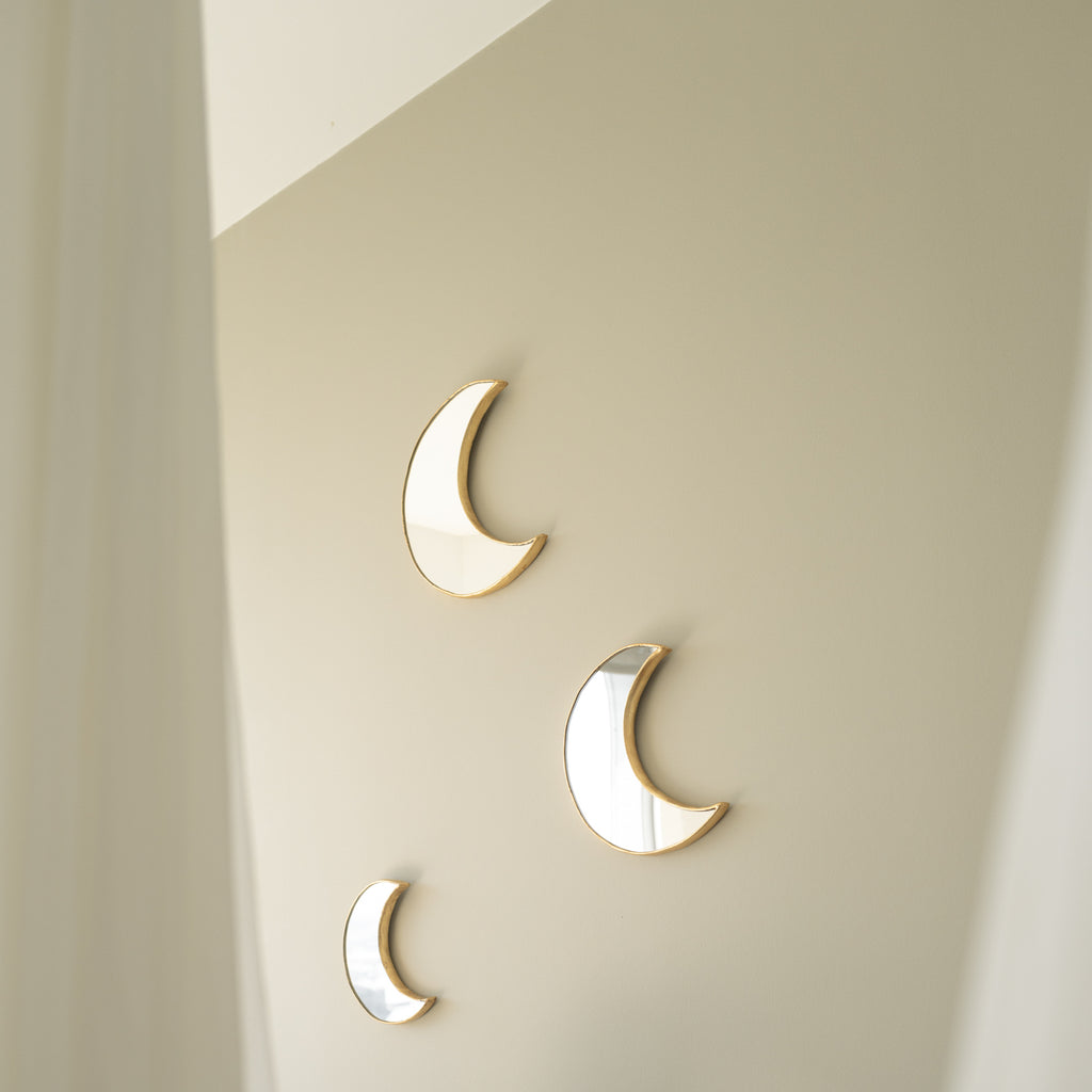 Peruvian Wall Mirror - Crescent Moon